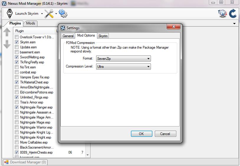 Скачать Nexus Mod Manager 0 44 TES 5 Skyrim